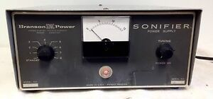 Branson Sonifier Power Supply Branson Instrunemts Inc Model 8125 Ships Fast