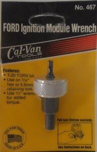 Cal van Tools 467 Ford Ignition Module Wrenches Qty 26 Made In The Usa