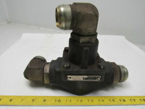 Ingersoll rand 39478193 Air Compressor Thermo Control Valve With 1 7 8 12 Jic