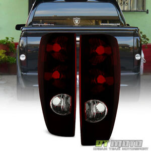 Red Smoke 2004 2012 Chevy Colorado Gmc Canyon Tail Lights Lamps Pair Left right