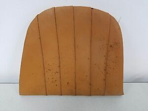 Nice Used Orig Porsche 911 912 Driver Rear Seat Bottom Cushion Tan Leatherette