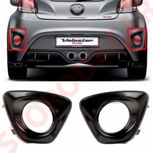 Rear Bumper Reflector Bezel Set 2p For 2011 Veloster Turbo Oem Parts