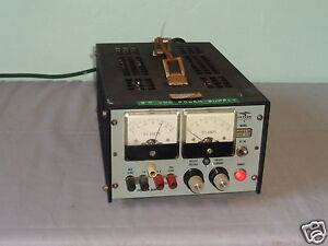 Vintage Trygon Electronics Hr60 2 5b 0 60v 2 5a Se Power Supply 4 Parts Repair