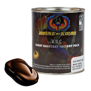 House Of Kolor C2c kbc07 Rootbeer Shimrin Kandy Basecoat Auto Paint 1 Quart