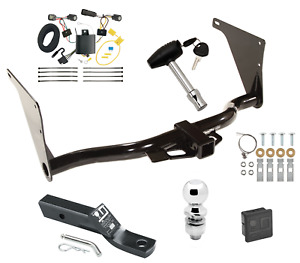 2017 2019 Ford Escape Complete Trailer Hitch Package W Wiring Kit Draw tite New