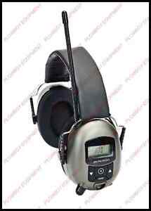 Digital Radio Earmuffs For Lawn Garden Zero Turn Mower Gator Utv Skid Steer