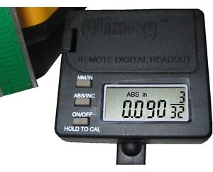 Wixey Remote Router Readout Aaa Batteries Wr525 Type 2