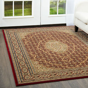 Free S H Red 8 X 8 Round Oriental Persian Area Rug 8690 Actual 7 10 Round