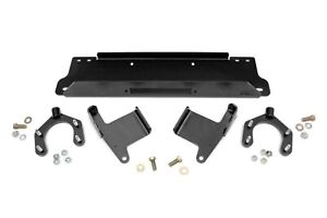 Rough Country Winch Mounting Plate 2007 2018 Jeep Jk Wrangler 1162