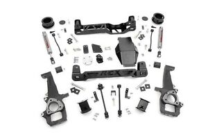 Rough Country 4 Lift Kit W perf2 2 Shocks 12 15 4wd Dodge Ram 1500 Pickup 323s