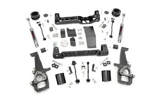 Rough Country 4 Lift Kit W perf2 2 Shocks 09 11 4wd Dodge Ram 1500 Pickup 328s