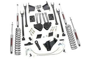 Rough Country 6 4 Link Lift Kit 2011 2014 4wd Ford F250 Diesel 565 20