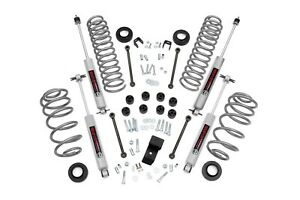 Rough Country 3 25 Lift Kit W N3 Shocks 03 06 Jeep Tj Wrangler W 6 Cyl 644 20