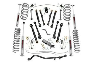 Rough Country 6 X Series Lift Kit W N3 Shocks 97 06 Jeep Tj Wrangler 66220