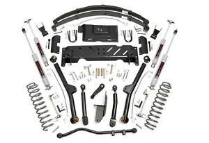 6 5 X series Long Arm Lift Kit 84 01 Jeep Xj Cherokee 2 5 4 0