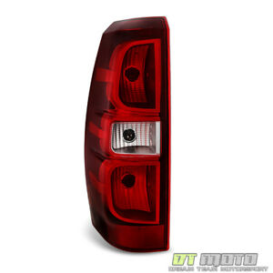 New 2007 2013 Chevy Avalanche Tail Light Brake Lamp Replacement Left Driver Side