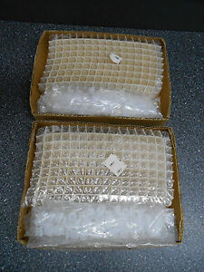Lot Of 288 2 X 144 12 X 35mm Clear Glass Vials With Closure