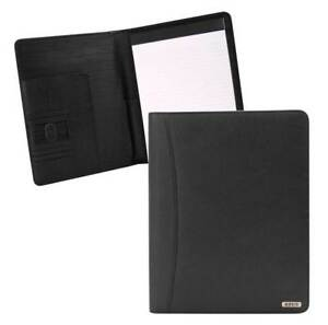 Rout Competitor Milled Leather Writing Pad 10 25 X 12 5 Inches Black Rbn25518