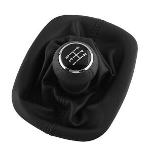 For Vw Passat B5 5 Speed Gear Stick Shift Knob Gaitor Boot Cover