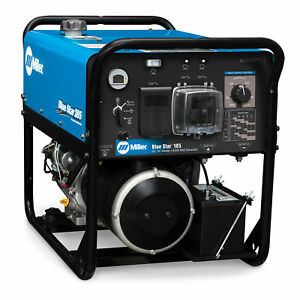 Miller Blue Star 185 Engine driven Welder Generator