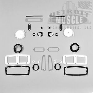 Dmt Mopar 1964 64 Plymouth Fury Savoy Exterior Paint Gasket Kit Set Body Seals