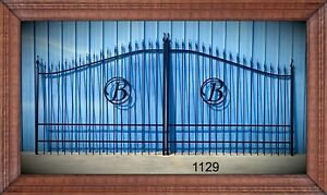 Free Shipping Post Package Aluminum Driveway Gate 16 Ft Wd Ds Home Security