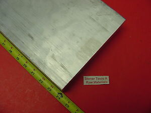1 2 X 8 Aluminum 6061 Flat Bar 24 Long T6511 500 Solid Plate Mill Stock