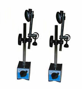 2 Pack 3 Heavy Duty Magnetic Base For Dial Indicators 132lbs Tool