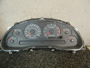 cl1937 02 03 04 Ford Mustang Gt 4 6l Speedometer Cluster 140k 2r3f 10a855 aa