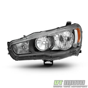 2008 2017 Mitsubishi Lancer Evo X Headlight Headlamp Replacement Lh Driver Side
