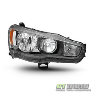 2008 2017 Mitsubishi Lancer Evo X Headlight Headlamp Replacement Passenger Side