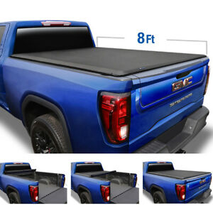 Fits 1888 2007 Silverado Sierra 8 Bed Tyger T1 Roll Up Tonneau Cover