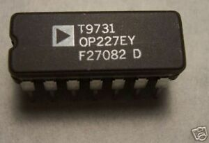 Analog Devices Op227ey Op227 10 Pcs