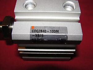 Smc Cdq2b40 10dm xb13 Pneumatic Cylinder Lot Of 5