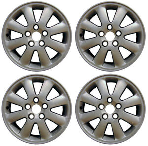 New Set Of 4 16 Alloy Wheels Rims For 2002 2003 2004 2005 2006 Toyota Camry