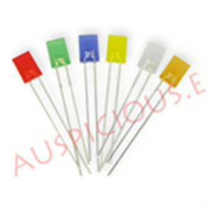 2 Color Led 2x5x7mm Diffused white Blue optional Combination rohs 500pcs