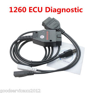 Car Odb2 Eobd 1260 Ecu Tuning Diagnostic Programmer Remap Flasher Vag Cable Tool