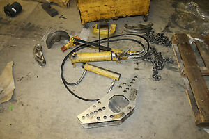 Enerpac 1 To 4 Hydraulic One Shot Conduit Pipe Bender