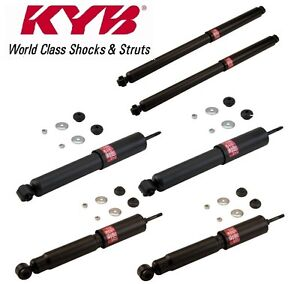 Kyb Quad 6 Shocks For Ford Bronco 84 To 96 1984 To 1996 344076 344049 344077