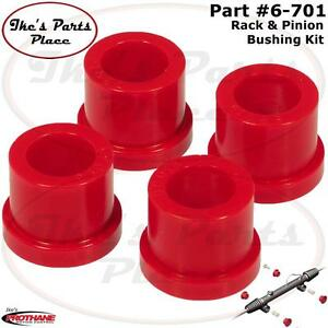 Prothane 6 701 Steering Rack Pinion Bushing Kit 74 78 Ford Mustang Ii Pinto