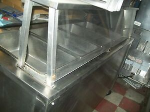 Steam Table Electric Full Body All S steel Unit l One Phase Free Shipping