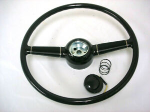 Vintique 1940 Ford Deluxe Steering Wheel For Gm Column Ididit Flaming River