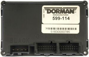 Transfer Case Control Module Dorman 599 114 Reman