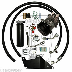1973 74 Charger Big Block Ac Compressor Upgrade Kit A c Air Conditioning Stage 1