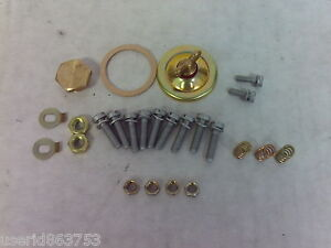 Genuine Weber Dcoe Hardware Weber Parts To Clean Up The Look 40 45 Dcoe