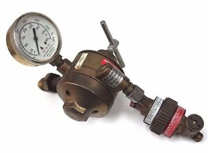 Airco 806 8462 Propane mapp Dual Stage Regulator W Concoa 8010789