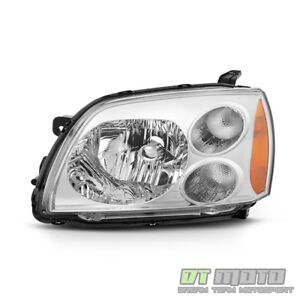 2004 2012 Mitsubishi Galant Halogen Chrome Bezel Headlight Headlamp Driver Side