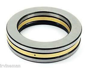 81107m Cylindrical Roller Thrust Bearings Bronze Cage 35x52x12 Mm