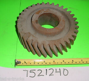 Transfer Case Drive Gear 2 5 Ton Military Truck 3020 00 312 8350 7521240 Nos