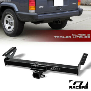 Class 3 Trailer Hitch Receiver Rear Bumper Towing 2 For 1984 2001 Jeep Cherokee